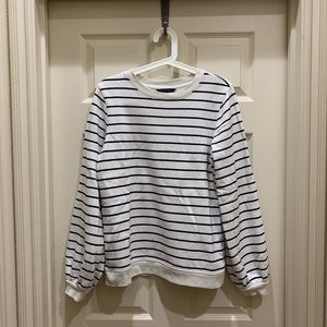 Banana Republic Pullover with Billow Sleeves